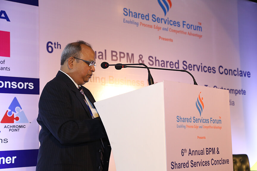 Welcome Address by Sanjay Gupta, Chief Architect, Shared Services Forum