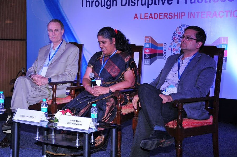 A Leadership Interaction on Unlocking Strategic Value Through Disruptive Practices and Thinking – May 2nd, 2016 – Bengaluru
