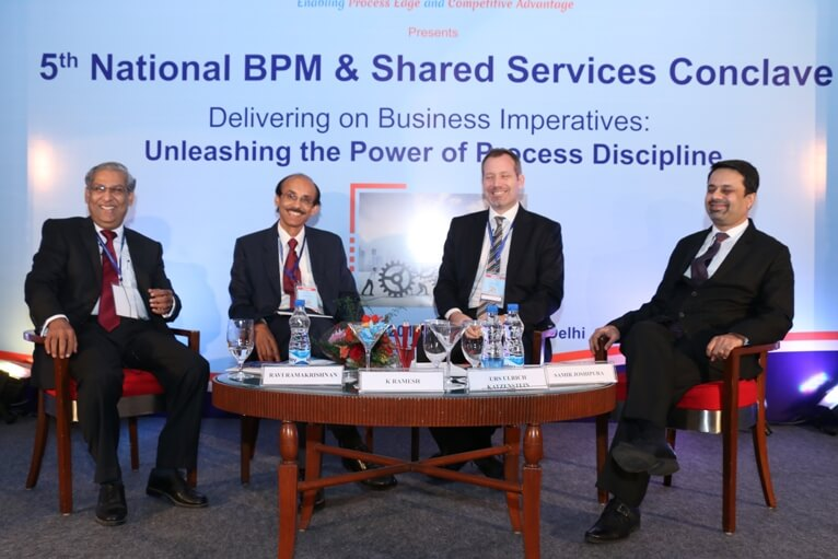 Shared Services Conclave Nov 2015 - Plenary Session - CXO Panel - Business Imperatives and Linkages to Process Discipline
