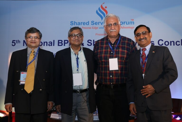 Shared Services Conclave Nov 2015 - Plenary Session - Relevance of BPM Strategy and Process Discipline to effectively Manage Business
