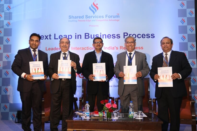 Leadership Interaction Event on India's Readiness for the Next Leap in Business Process, Feb 2016
