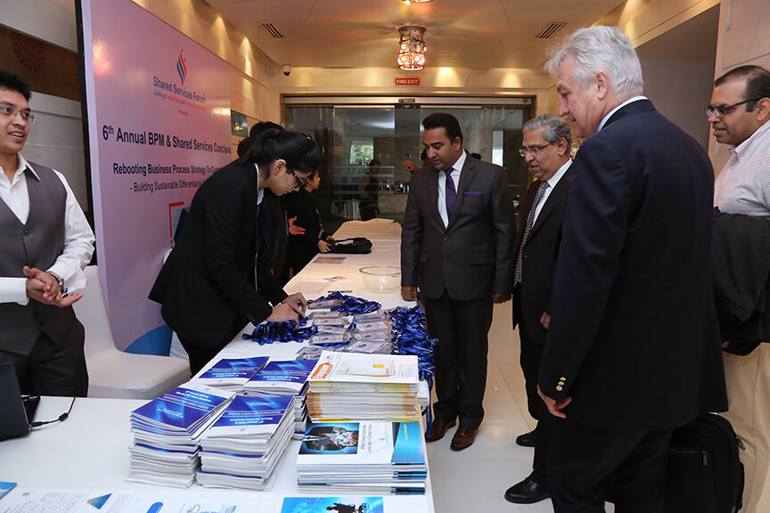 Registration at the 6th Annual BPM & Shared Services Conclave – 2016